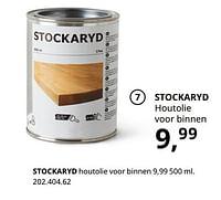 Stockaryd houtolie voor binnen-Huismerk - Ikea