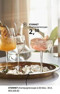 Storhet champagnecoupe-Huismerk - Ikea