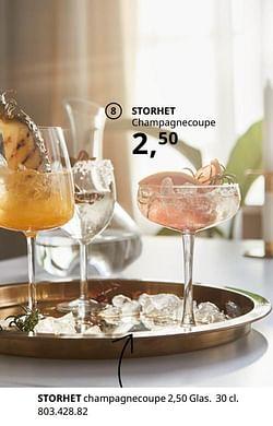 Storhet champagnecoupe