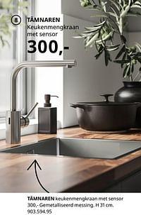 Tämnaren keukenmengkraan met sensor-Huismerk - Ikea
