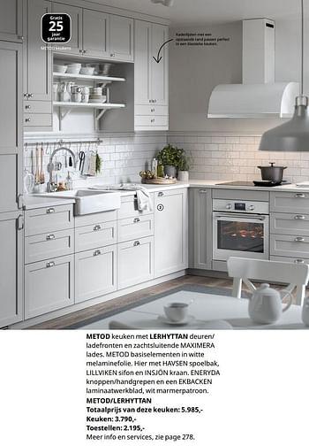 Ikea Promotie Totaalprijs Van Deze Keuken Huismerk Ikea Keuken En Badkamer Geldig Tot 15 08 21 Promobutler
