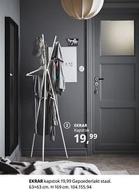 Ekrar kapstok-Huismerk - Ikea