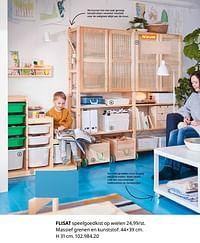 Flisat speelgoedkist op wielen-Huismerk - Ikea