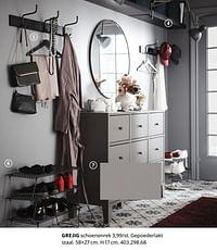 Grejig schoenenrek-Huismerk - Ikea