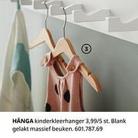 Hänga kinderkleerhanger-Huismerk - Ikea
