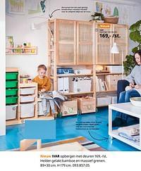 Ivar opberger met deuren-Huismerk - Ikea