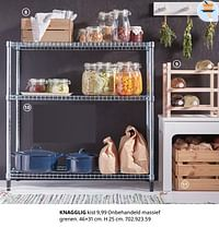 Knagglig kist-Huismerk - Ikea