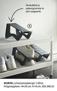 Murvel schoenenopberger-Huismerk - Ikea