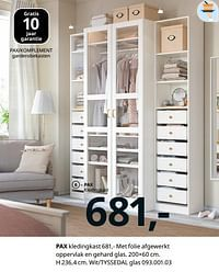 Pax kledingkast-Huismerk - Ikea