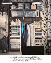Skubb waszak met standaard-Huismerk - Ikea