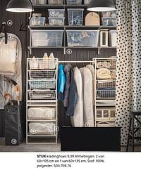 Stuk kledinghoes-Huismerk - Ikea