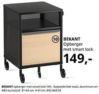 Bekant opberger met smart lock-Huismerk - Ikea