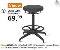 Lidkullen zit--stakruk-Huismerk - Ikea