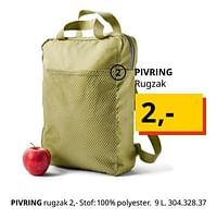 Pivring rugzak-Huismerk - Ikea
