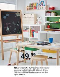 Flisat kindertafel-Huismerk - Ikea