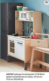 Lustigt opberger knutselspullen-Huismerk - Ikea