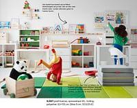 Släkt poef-matras, opvouwbaar-Huismerk - Ikea