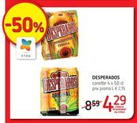 Desperados Promotions Et Prix Promobutler