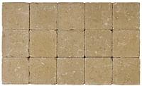 Cobogarden Klinker getrommeld 15 x 15 x 4 cm zand/geel-Cobo Garden
