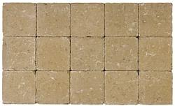 Cobogarden Klinker getrommeld 15 x 15 x 4 cm zand/geel