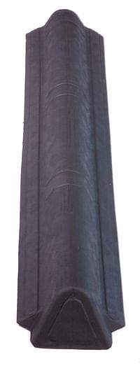 Onduline Onduvilla nok smal l/r zwart 1,06 m-Onduline