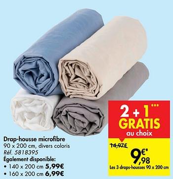 Promotion Carrefour Drap Housse Microfibre Produit Maison Carrefour Menage Valide Jusqua 4 Promobutler