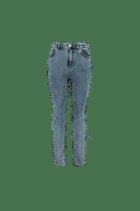 MS Mode Dames Skinny leg high waist jeans CHERRY Denim-Huismerk - MS Mode