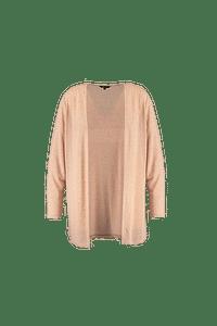 MS Mode Dames Lang openvallend vest-Huismerk - MS Mode