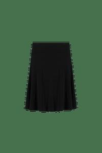 MS Mode Dames Luchtig rokje Zwart-Huismerk - MS Mode