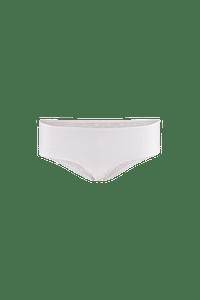 MS Mode Dames Short met kanten achterkant - Fabulous Wit-Huismerk - MS Mode