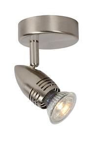Lucide LED Plafondspot Caro GU10 1 x 5 W rond mat chroom-Lucide
