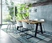 Tafel Alegro in HPL kleur-Huismerk - O & O Trendy Wonen