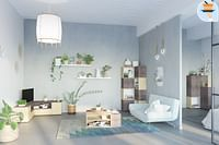 Hoek TV-meubel Angle-Huismerk - O & O Trendy Wonen