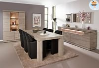 Tafel Grijs marmer (K540)-Huismerk - O & O Trendy Wonen