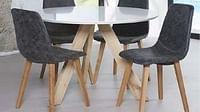 Ronde tafel Wit-Huismerk - O & O Trendy Wonen