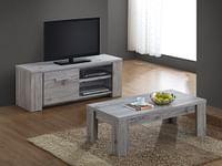 TV-meubel Rustiek Eik-Huismerk - O & O Trendy Wonen