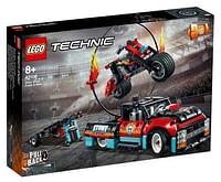 42106 Truck en motor voor stuntshow-Lego