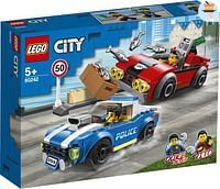 60242 Politiearrest op de snelweg-Lego
