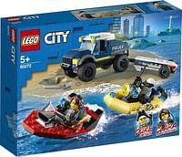 60272 LEGO City Elite politieboot transport-Lego