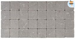 Cobogarden Klinker getrommeld 10 x 10 x 4 cm grijs