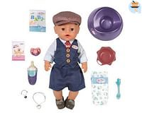 BABY Born Soft Touch City Boy met pet-Zapf creation