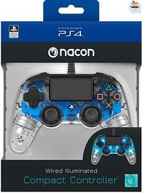PS4 Nacon Wired Official Controller Transparant  B-BIGben