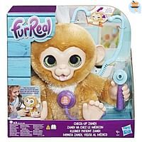 Fur Real Zandi, het zieke aapje-FurReal