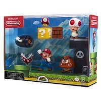Super Mario Acorn Plains Figure Set 5 figuren 6cm-Nintendo