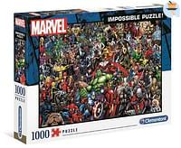 Impossible Puzzle Marvel 1000st-Clementoni