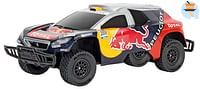 Peugeot 08 DKR 16 Red Bull 1:16 RC offroad racer-Carrera