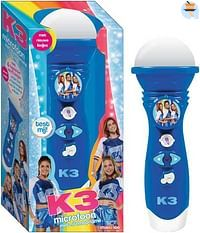 K3 Rollerdisco Microfoon met stemopname-Studio 100