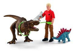 Schleich Dinosaurs 41465 Tyrannosaurus Rex aanval
