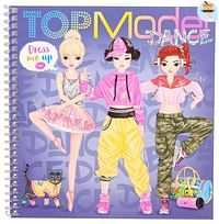 TOPModel Dress Me Up Stickerbook DANCE-Top Model