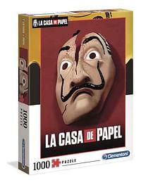 La Casa de Papel 1000st Dali masker-Clementoni